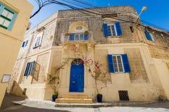 Sandsone architecture of Lija Malta. Beautiful sandstone architecture cistyscape of Lija on Malta island. Beautiful landscape in south Europe Royalty Free Stock Photography