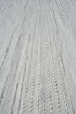 Sandspuren Lizenzfreie Stockbilder