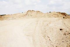 Sandstapel Lizenzfreie Stockfotos