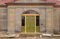 Sandstein-Bau Stockfotos
