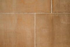 Sandstein-Blöcke und Überziehen des Texturgefühlhintergrundes Stockbilder