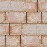 Sandstein blockiert - dekoratives Muster - nahtlosen Hintergrund Stockbilder