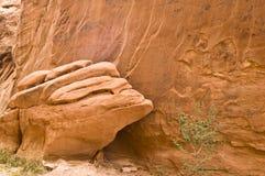 Sandstein-Detail Lizenzfreie Stockfotografie