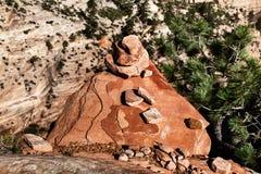 Sandstein-Pyramide, USA Lizenzfreie Stockfotografie