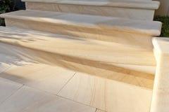 Sandstein tritt Detail Stockbild