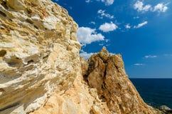 Sandsteinfelsen Stockfotografie
