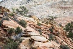 Sandsteinfelsformation westlich von USA 3 stockfotografie