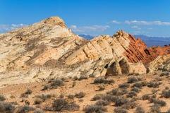 Sandsteinformationen in der Wüste Lizenzfreies Stockfoto