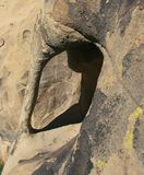 Sandsteinhöhle Lizenzfreie Stockbilder