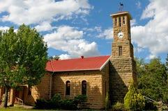 Sandsteinkirche, Clarens, Südafrika lizenzfreie stockfotografie