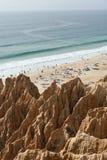 Sandsteinklippe Stockbilder