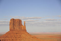 Sandsteinklippe Stockfotos