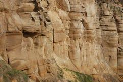 Sandsteinklippe Stockbild