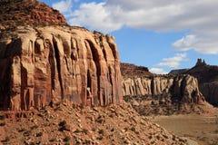 Sandsteinklippen Stockfoto