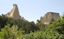 Sandsteinklippen Stockbilder