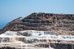Sandsteinsteinbruch Lizenzfreies Stockfoto