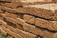 Sandsteinwand Lizenzfreie Stockfotos
