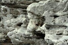 Sandsten i saxony Schweiz arkivbilder