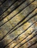 Sandsten vaggar med spår Arkivbilder