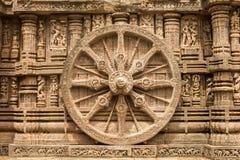 Sandstenhjul royaltyfri bild