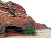 Sandstenklippor fotografering för bildbyråer