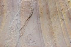 Sandstentextur arkivbilder