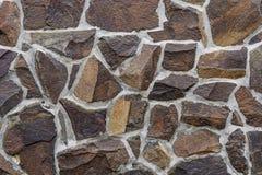 Sandstenvägg från en byggnad i östlig erzgebirge för bakgrund arkivbild