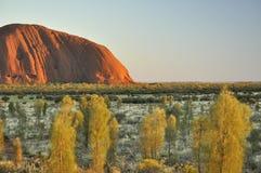 Sandstomevorming op Noordelijk grondgebied van Australië Royalty-vrije Stock Fotografie