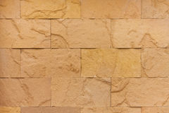 Sandstone. S that used for constructing a wall Stock Image
