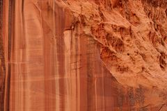 Sandstone abstract stock image