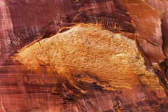 Sandstone Abstract Capitol Reef National Park Torrey Utah Stock Photo
