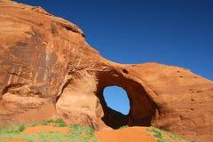 Sandstone Arch - Monument Valley, Arizona Stock Image