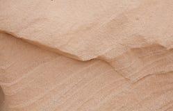 Sandstone background. Natural smooth light yellow sandstone background Royalty Free Stock Photo
