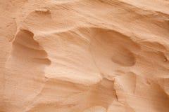 Sandstone background. Natural smooth light yellow sandstone background Royalty Free Stock Photos