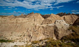 Sandstone in Badlands, South Dakota Stock Photography
