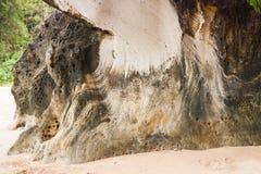 Sandstone at Bako national park Borneo Royalty Free Stock Photo