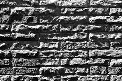 Sandstone block walls. Sandstone block walls, black and white photo Stock Image