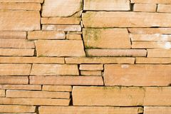 Sandstone Blocks Royalty Free Stock Photos