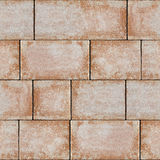 Sandstone blocks - decorative pattern - seamless background Stock Images