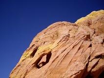 Sandstone on Blue Royalty Free Stock Image