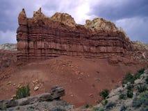 Sandstone Bluff stock photography