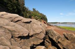 Sandstone Boulders Stock Image