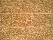 Sandstone Brick Stock Photo