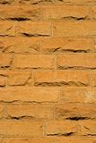 Sandstone brick background Stock Photography