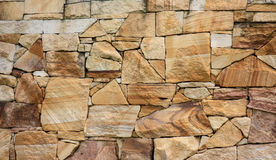 Sandstone Brick Wall Background Royalty Free Stock Image