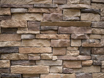 Sandstone Brick Wall. Brown Sandstone Brick Wall texture without Mortar Stock Image