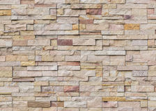 Sandstone brick wall royalty free stock photos