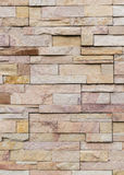 Sandstone brick wall Stock Photo