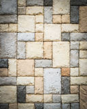 Sandstone brick wall royalty free stock photo