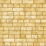 Sandstone brick wall Stock Photography